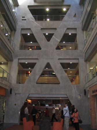 X Motif in the new building