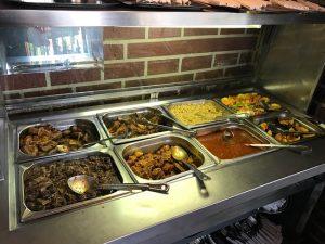 Buffet style at Sakhumzi's