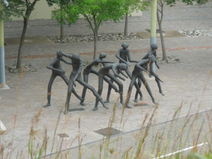The Dancers sculpture Constitution Hill