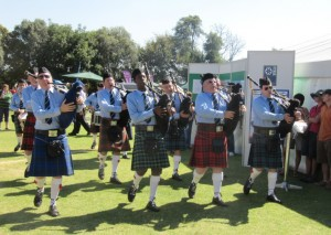 The skirl of the bagpipers (Did you know that's what the sound of a bagpipe is called?