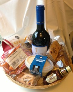 Local is 'lekker' . Welcome to South Africa hamper made up by