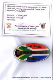 Tour guide cert