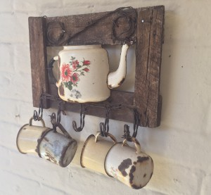 Rustic feature on the wall