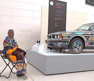 Esther and the BMW design