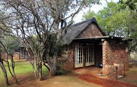 'Two bedroomed' chalets at Manyane