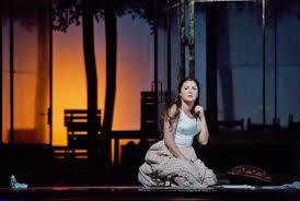 Netrebko as Tatiana in Tchaikovsky's 'Eugene Onegin'