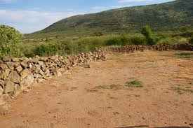 Iron Age settlements many visible from the road in the Pilanesberg