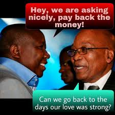 It was Malema who supported Zuma to oust Mbeki in 2008. Source: News24.com