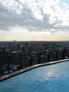 View from the Parktonian in Braamfrontein