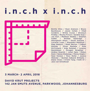 inch X inch at David Krut In Parkwood