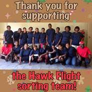 The Hawk Flight sorting team