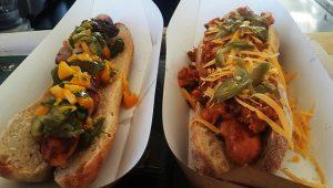 Cafe stuff Hot dogs