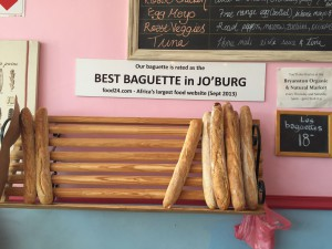 Voted best baguettes in Joburg by Food24.com