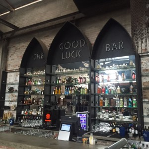 The Good Luck Bar - a favourite city watering hole