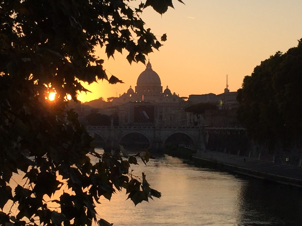 st-peters-sunset-from-castel-st-angelo-bridge