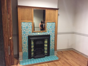 Beautiful tiles fireplaces in almost all the rooms Source: Liz at Lancaster