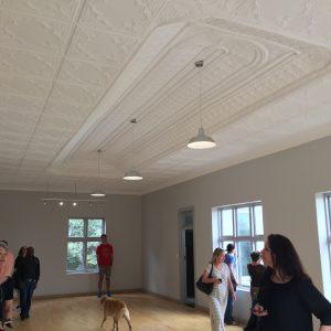 Ballroom with sprung oregan pine floor Source: Liz at Lancaster Guesthouse