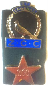 ZCC Star and Dove Badge