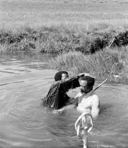 Baptism in Soweto