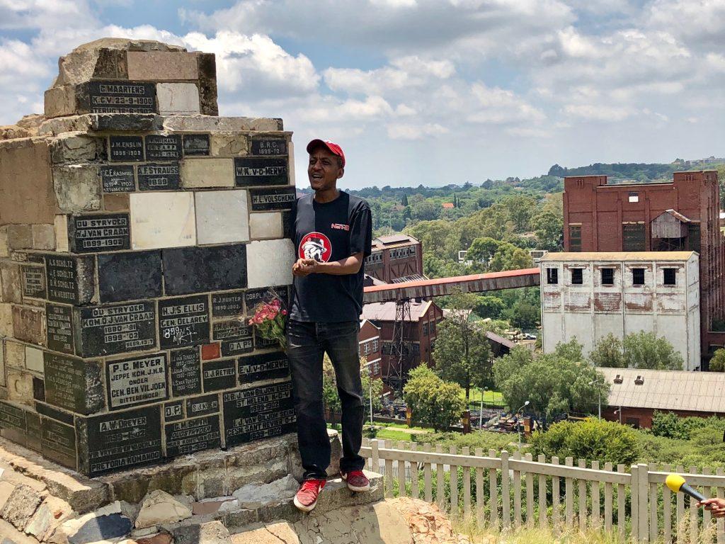 Roving Bantu Walking tour of Fietas and Braamfontein