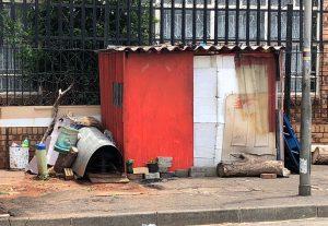 Homelessness Johannesburg