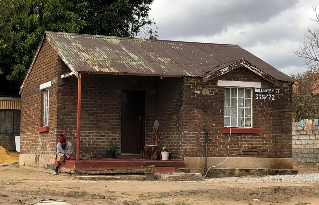 Matchbox Houses in Soweto