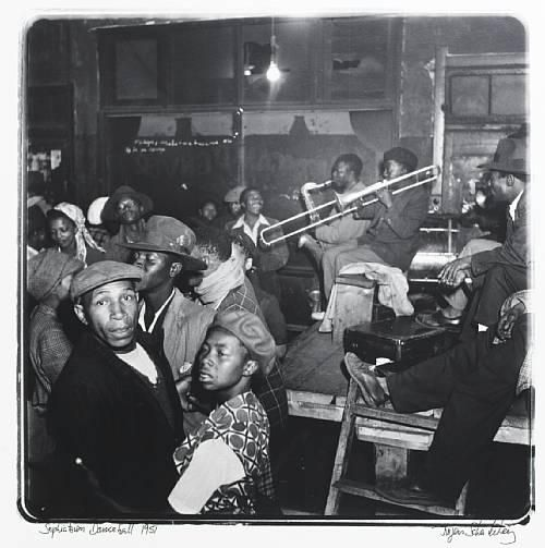 Sophiatown Dance Hall 1951 by Jurgen Schadeberg. Source: SA History on Line