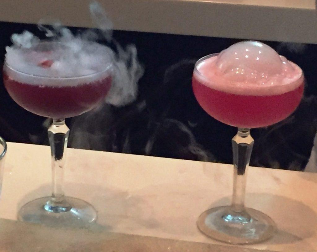 Cocktails at Orbit