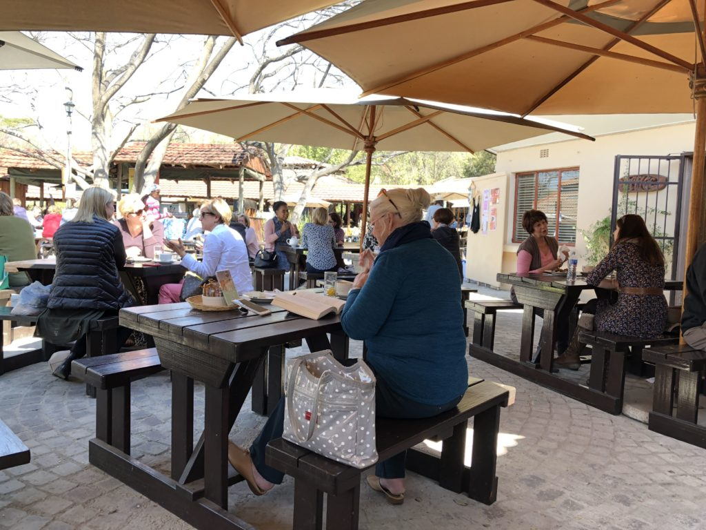 Outdoor Meals at Bryanston Market