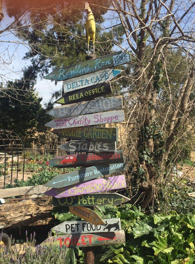 Delta Centre Signpost