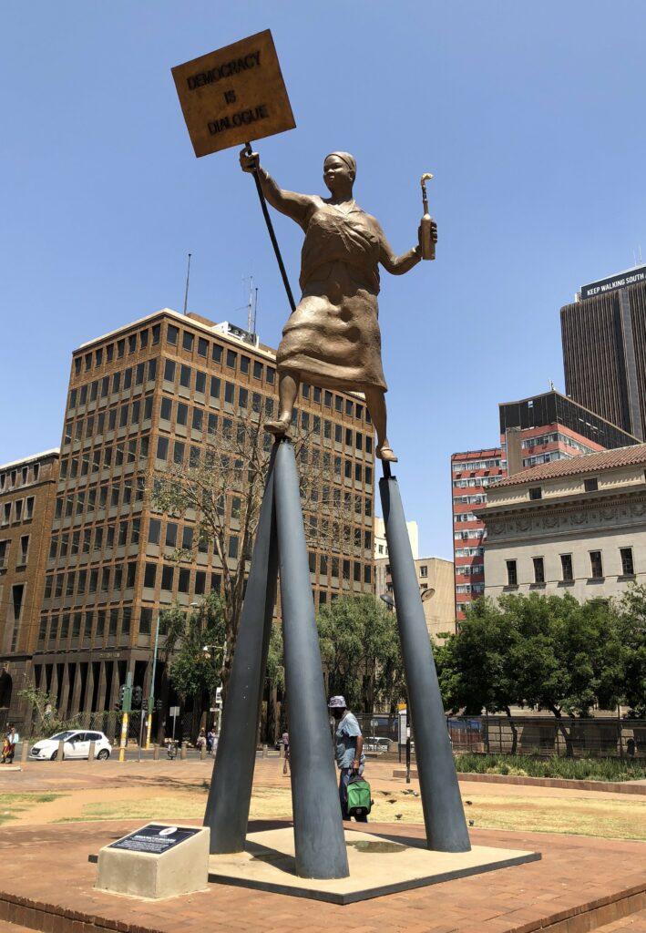 Democracy in Dialogue Lawrence Lemaoana