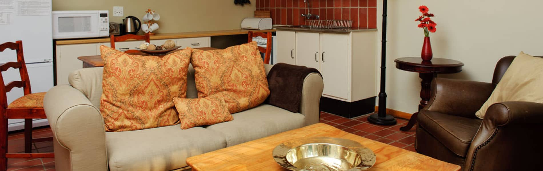 Craighall B & B & Self Catering Cottage Kitchen & Lounge