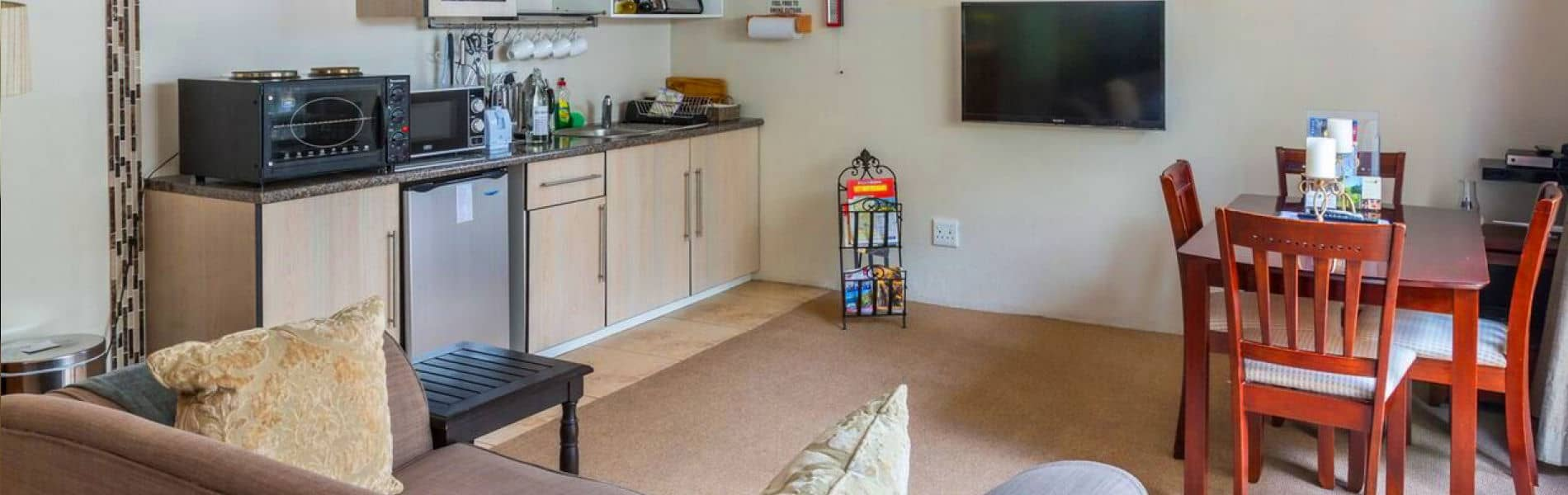 Three studio flatlets ideal for long stay Johannesburg accommodation