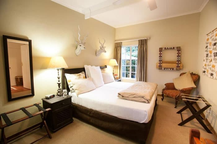 Craighall Self Catering Garden Cottage Bedroom